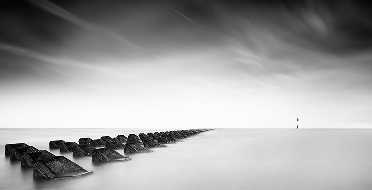 Mono Pictorial 1st Place: Into Infinity by Howard Sumner