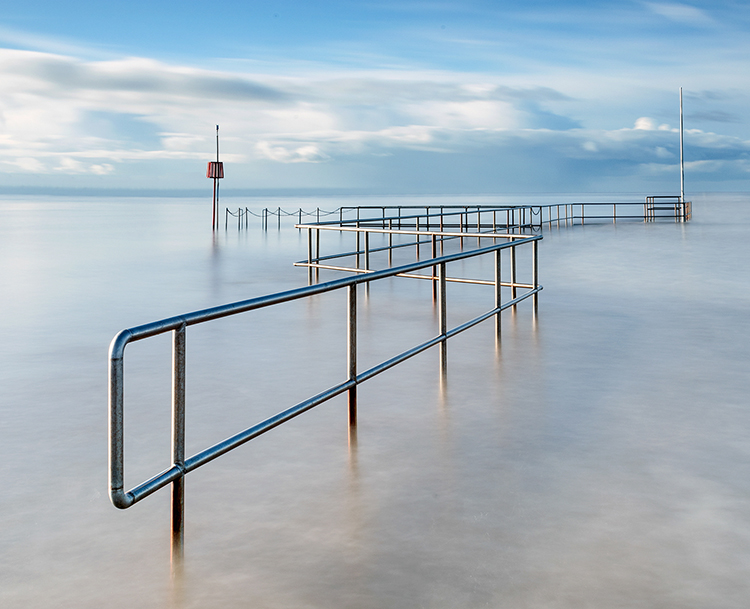 Colour Pictorial 1st Place: Railings by Howard Sumner