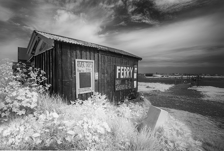 Mono Record 2nd Place - Ferryman's Hut by Howard Mason